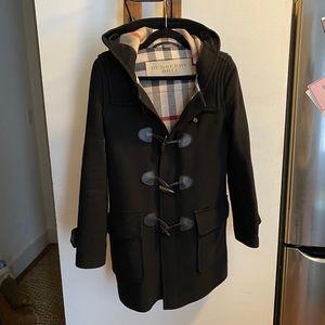 Women's Burberry toggle coat
